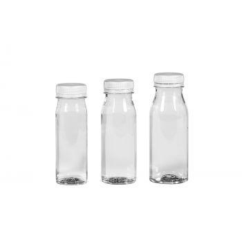Juice Shot flessen PET Transparent