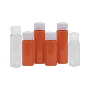 Juice mini shot PET transparant