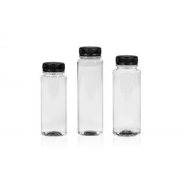 Juice Straight flessen PET Transparent