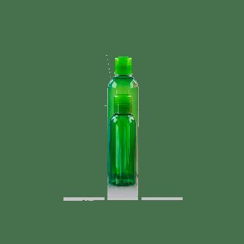 Basic Round Fles PET Groen